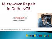 Microwave Repair in Delhi NCR