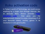 How to Get  & Enter Roku Link Code to activate Roku device???