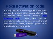 How to get and Enter Roku Link Code to activate Roku device???