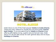 Book and Enjoy Chania Best Hotels