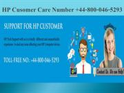 HP Customer Support Number +44-800-046-5293