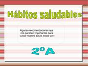 habitos saludables 2A