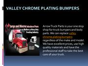 Valley Chrome Plating Bumpers