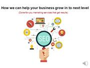How we can help your business grow in to next level