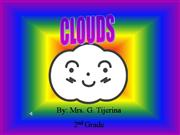 clouds Kinder Ms. Carillo Santo Nino