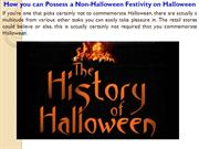 How you can Possess a Non Halloween Festivity on Halloween