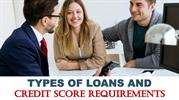 Types of Loans and Credit Score Requirements