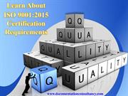 Get information about ISO 9001 Quality Management System