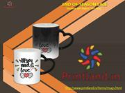 Mugs Printing - Personalized Mugs with Logo Printed Online in India