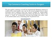 Top Commerce Coaching Centre in Gurgaon