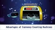 Currency Cash Counting Machines Suppliers in UAE