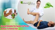 Natural Remedies For Swollen Stiff Knee Arthritis To Relieve Pain