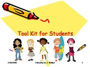 Tool Kit for Students