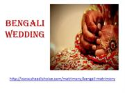 Bengali Brides and Grooms