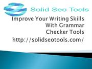 Improve Your Writing Skills With Grammar Checker
