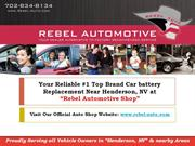 your Reliable Car Battery Replacement near Henderson, NE
