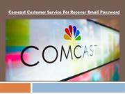 How to Recover Xfinity Comcast Email Account Password