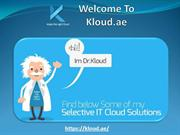 Cloud solutions & service providers in UAE