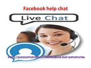 Discuss your facebook related issues with Facebookhelpchat