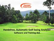 Golf Swing Analyzer : Golf Equipment : Sports