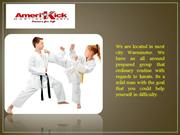 Children ages 3 to 11 for martial arts