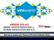 VMware 2v0-642 Question Answers | Latest VMware 2v0-642 Braindumps