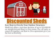 Discounted Sheds