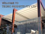 High Quality Balcony Awnings
