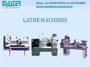 Lathe Machines Manufacturers & Exporters - Master Exports India
