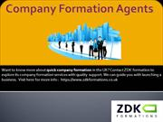 Company formation agents