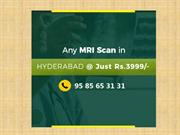 MRI scan cost in Hyderabad - BookMyScans