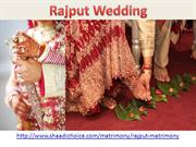 Rajput Brides and Grooms
