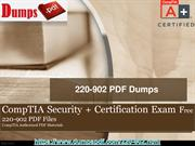 Pass your CompTIA 220-902 Exam With (Dumpspdf.com)
