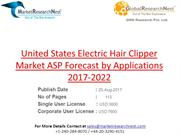 United States Electric Hair Clipper Market ASP Forecast by Application