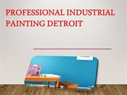 Professional Industrial Painting Detroit
