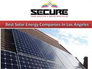 Best Solar Energy Companies In Los Angeles