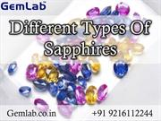 Different Types Of Sapphires
