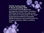 Coaching_ Programs OSCAR MODEL