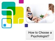 Maria Cambiaso | How to Choose a Psychologist?
