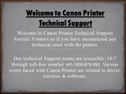 Consulit with Experts to solve Canon Printer Error Codes