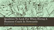 Qualities To Look For When Hiring A Business Coach In Newcastle