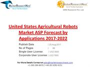 United States Agricultural Robots Market ASP Forecast by Applications