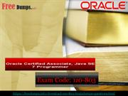Oracle 1z0-803 Braindumps