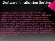 Software Localisation Services