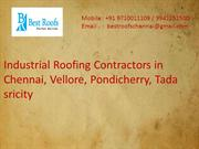 Industrial Roofing Contractors in Chennai
