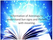 Understand The Importance Of Astrology And Sun SIgns