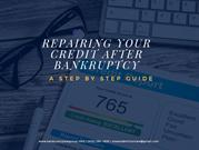 Repairing Your Credit After Bankruptcy