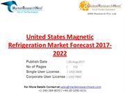 United States Magnetic Refrigeration Market Forecast 2017-2022