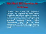 Get Best SEO Services in Lucknow