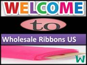 Buy Colorful Satin Ribbon Online At Wholesale Prices